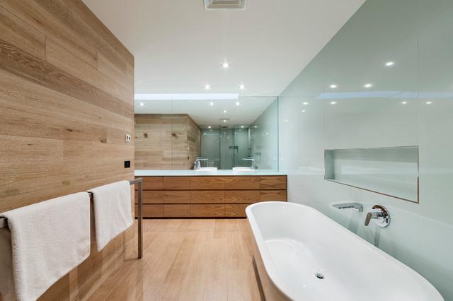Webb st townhouse project modern bathroom melbourne for Townhouse bathroom designs