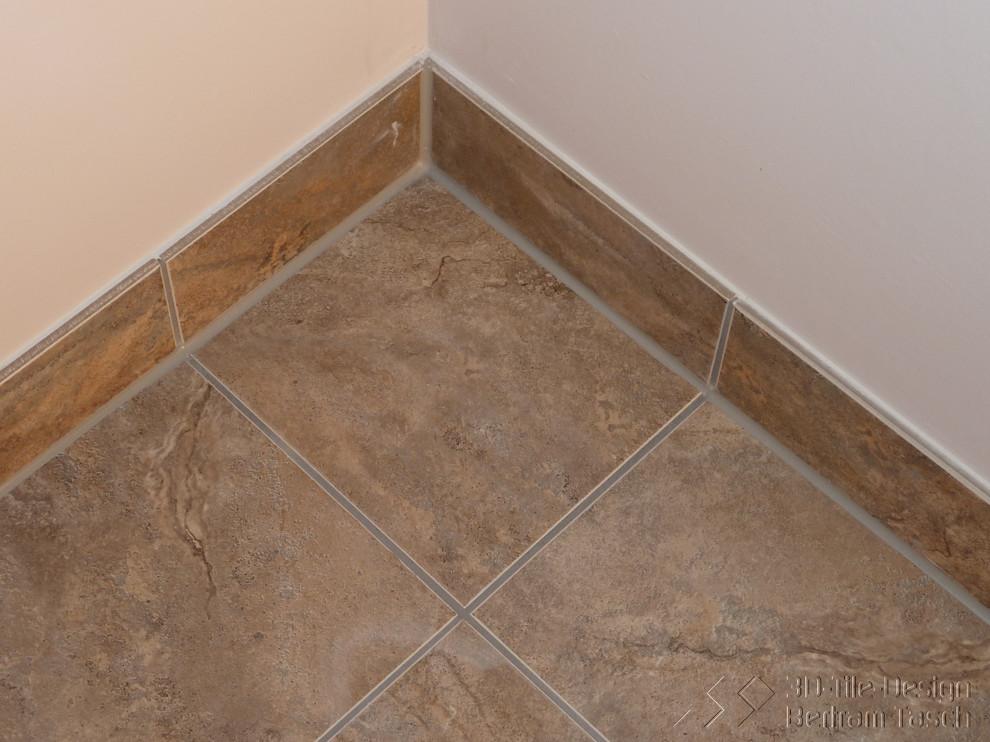 Caulked Baseboard Joints Modern Bathroom Vancouver By 3d Tile Design Bertram Tasch Houzz