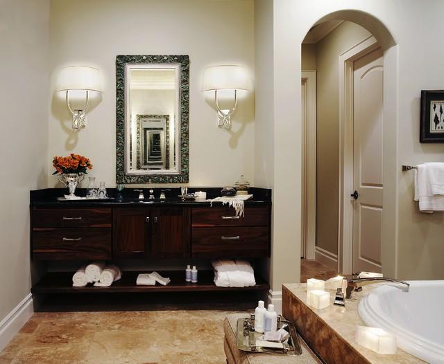 CDA Interior Design traditional-bathroom