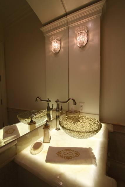 Cedar hill transitional bathroom dallas by devance for Home automation shower