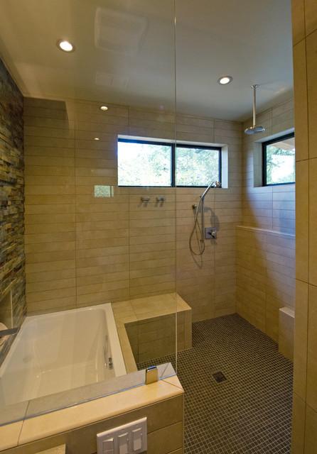 Cedarview Residence modern-bathroom