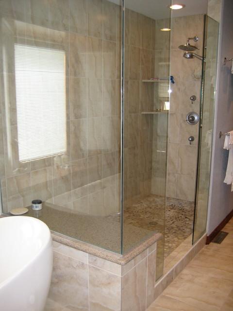 Centennial Master Bathroom Remodel Traditional
