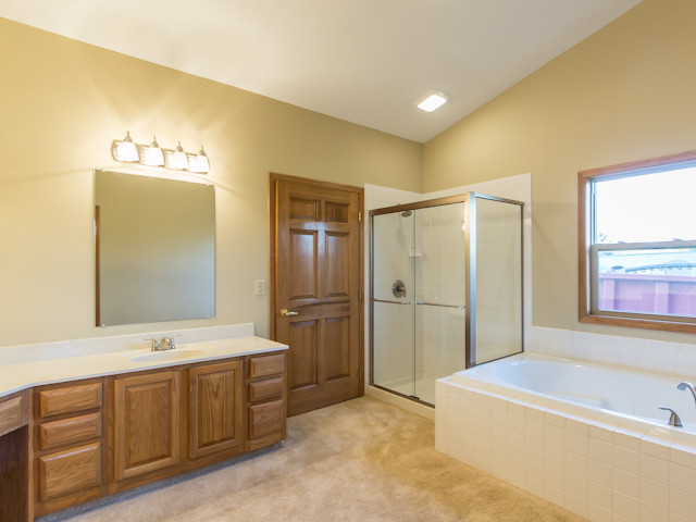 Central Ohio New Home traditional bathroom
