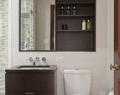 Central Park West Renovation contemporary-bathroom