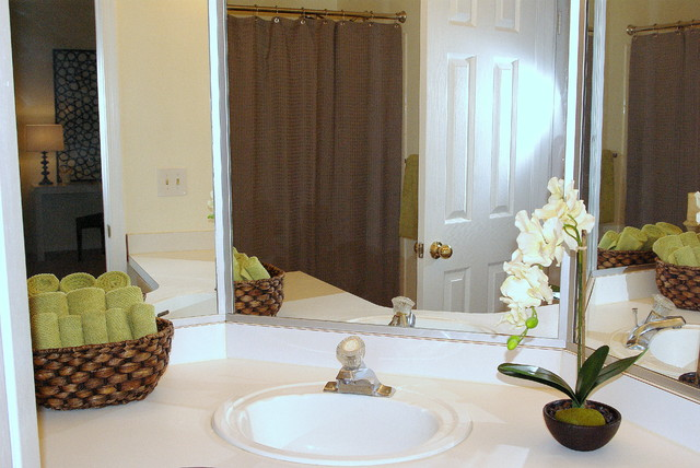 Centreville Va Condo Traditional Bathroom Other Metro By Staged For Style