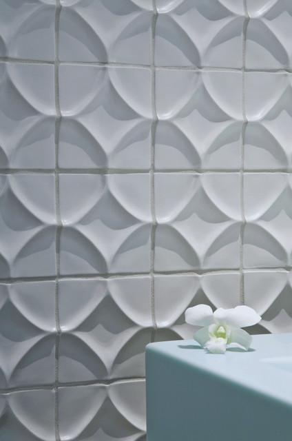 ceramic tile modern bathroom by ann sacks