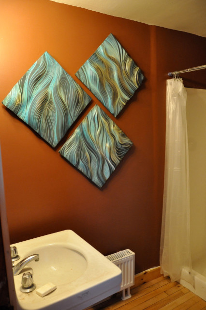 ceramic tile murals bathroom ceramic wall tile bathroom boston by natalie 17646