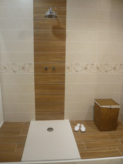 Theyu0027re Perfect For Areas Where Laying Real Hardwood Would Be Problematic.  Contemporary Bathroom Great Pictures