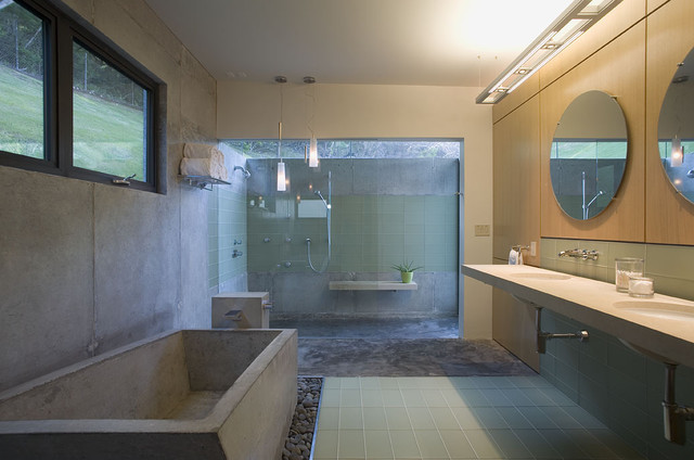 modern bathroom by Cottam Hargrave