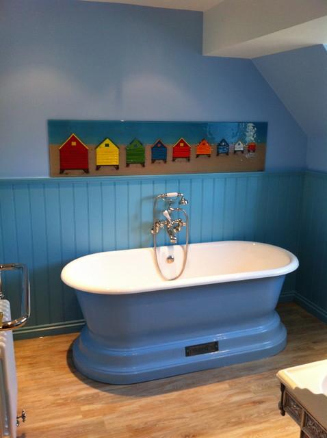 "Chadder & Co ""Chadite"" Baths traditional-bathroom"