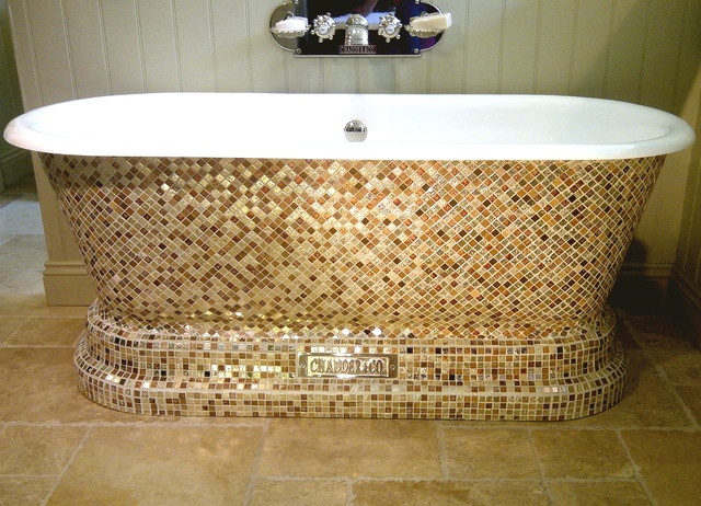 "Chadder & Co ""Chadite"" Baths traditional-bathroom"