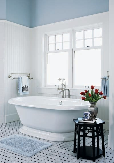 Chalk Hill Residence - Traditional Bathing traditional-bathroom