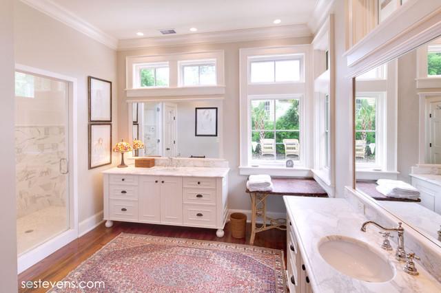 Chamberlain Residence traditional-bathroom