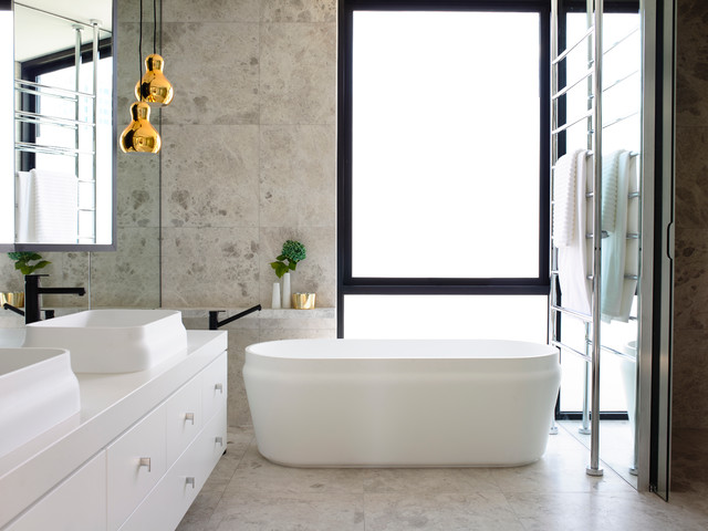 Chambers st contemporary bathroom melbourne by mim for Bathroom decor melbourne