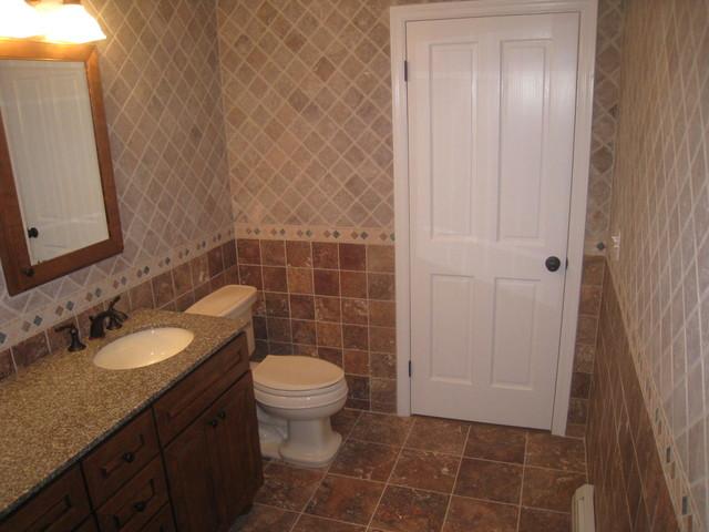 Chappaqua Addition and Bridge traditional-bathroom