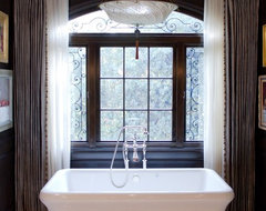 Charmean Neithart Interiors, LLC. traditional-bathroom