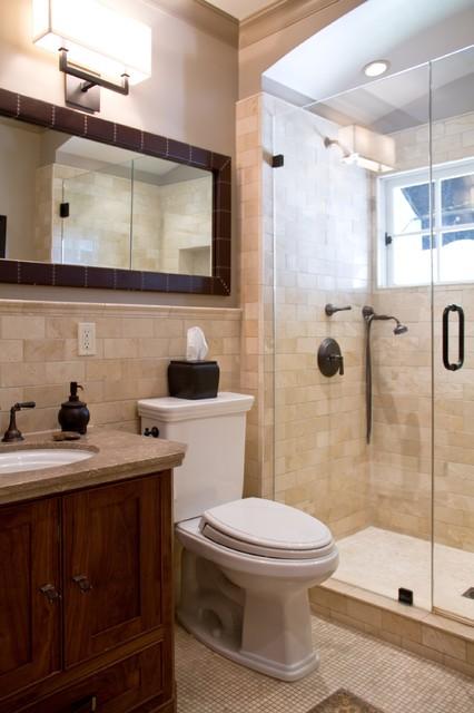 Charmean Neithart Interiors, LLC. traditional-bathroom