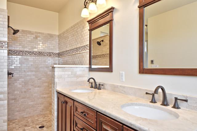 Charming Hill Country Craftsman craftsman-bathroom