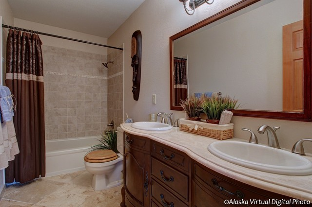 Chasewood lane home anchorage alaska rustic bathroom for Bathroom remodel anchorage