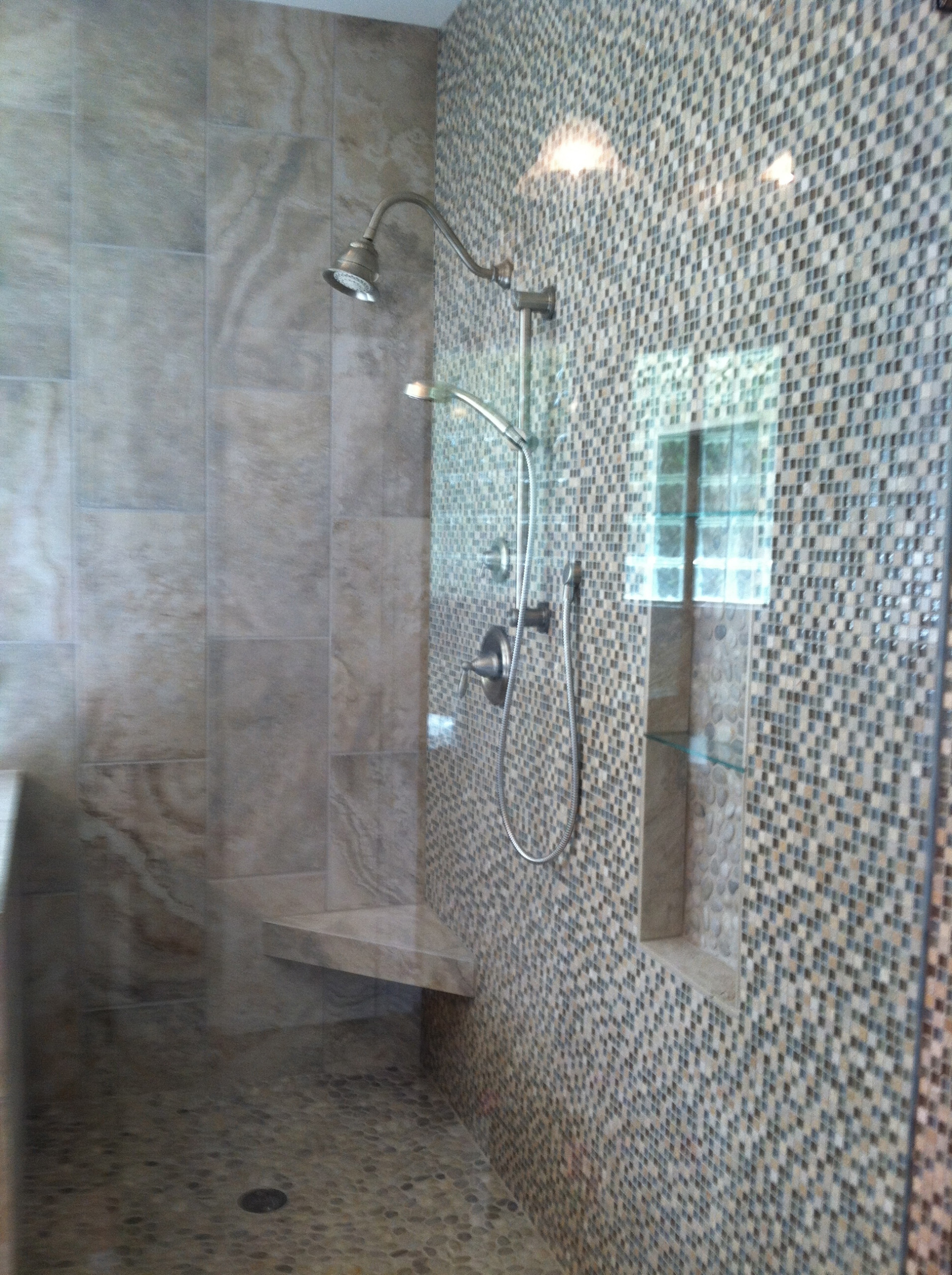 Chateau Woods Renovated Master Bathroom