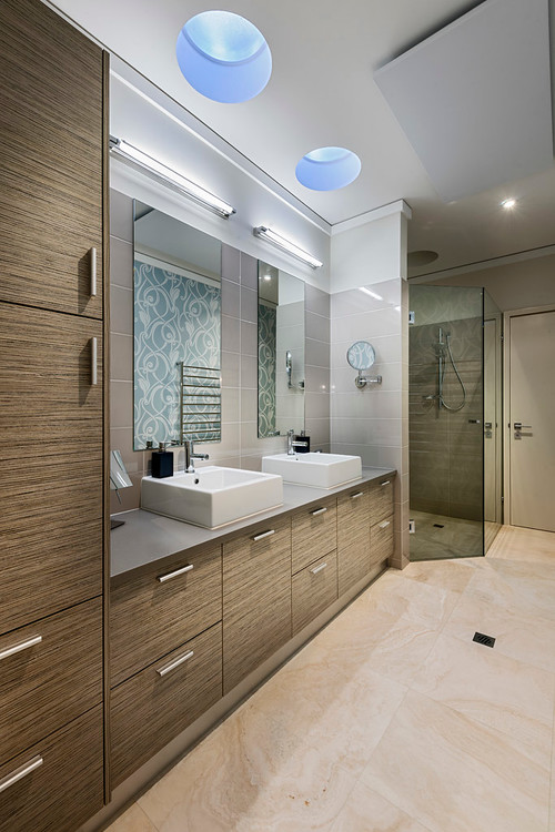 contemporary bathroom Light Up Your Bathroom... Naturally!