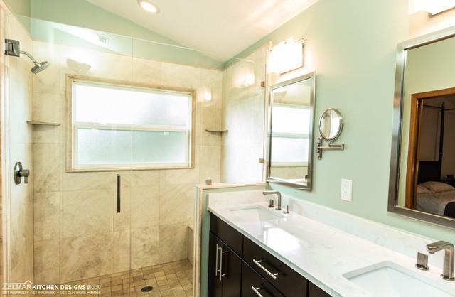Chauhan zelmar bath remodel contemporary bathroom for Zelmar kitchen designs
