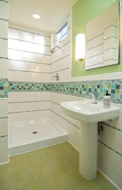 cheerful bathroom eclectic-bathroom