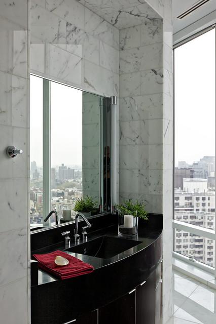 Chelsea Duplex Penthouse contemporary-bathroom