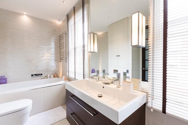 Chelsea town house modern bathroom surrey by nude for Bathroom design surrey