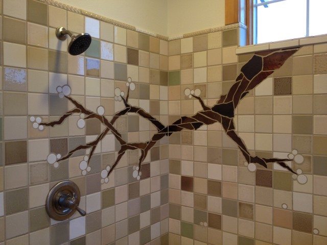 Cherry Branch eclectic-bathroom