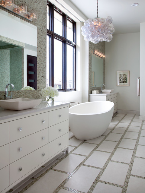 Cherry Creek Country Club Transitional Bathroom Denver by Wm Ohs Show