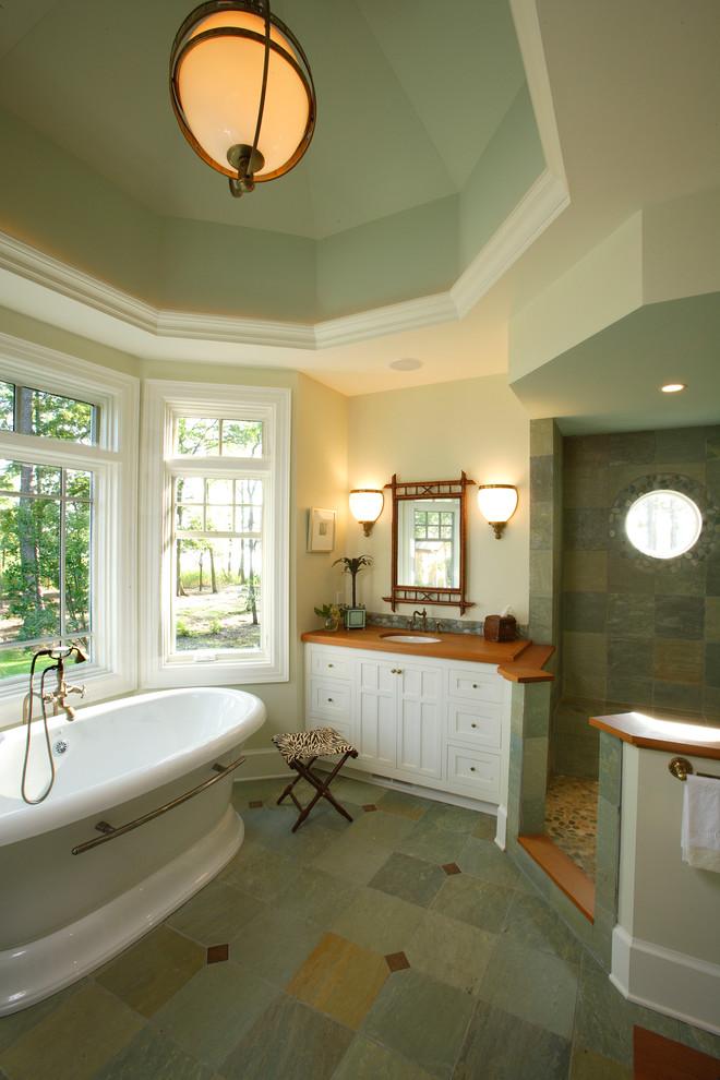 Bathroom - coastal bathroom idea in Philadelphia