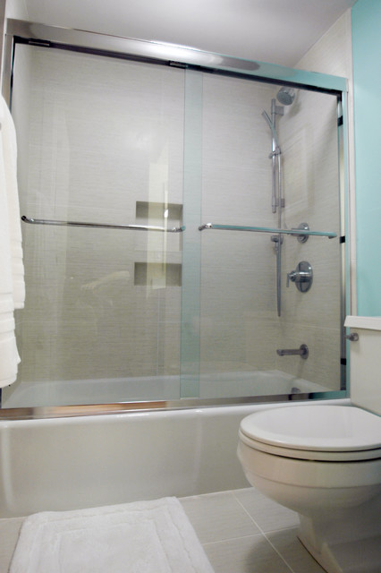 Chestnut Hill Modern Condo Bathroom