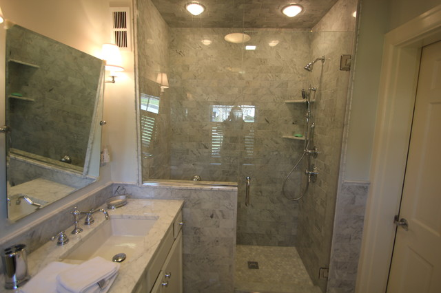 Chevy Chase 48's Bathroom Remodel Traditional Bathroom Stunning Cincinnati Bathroom Remodeling Exterior