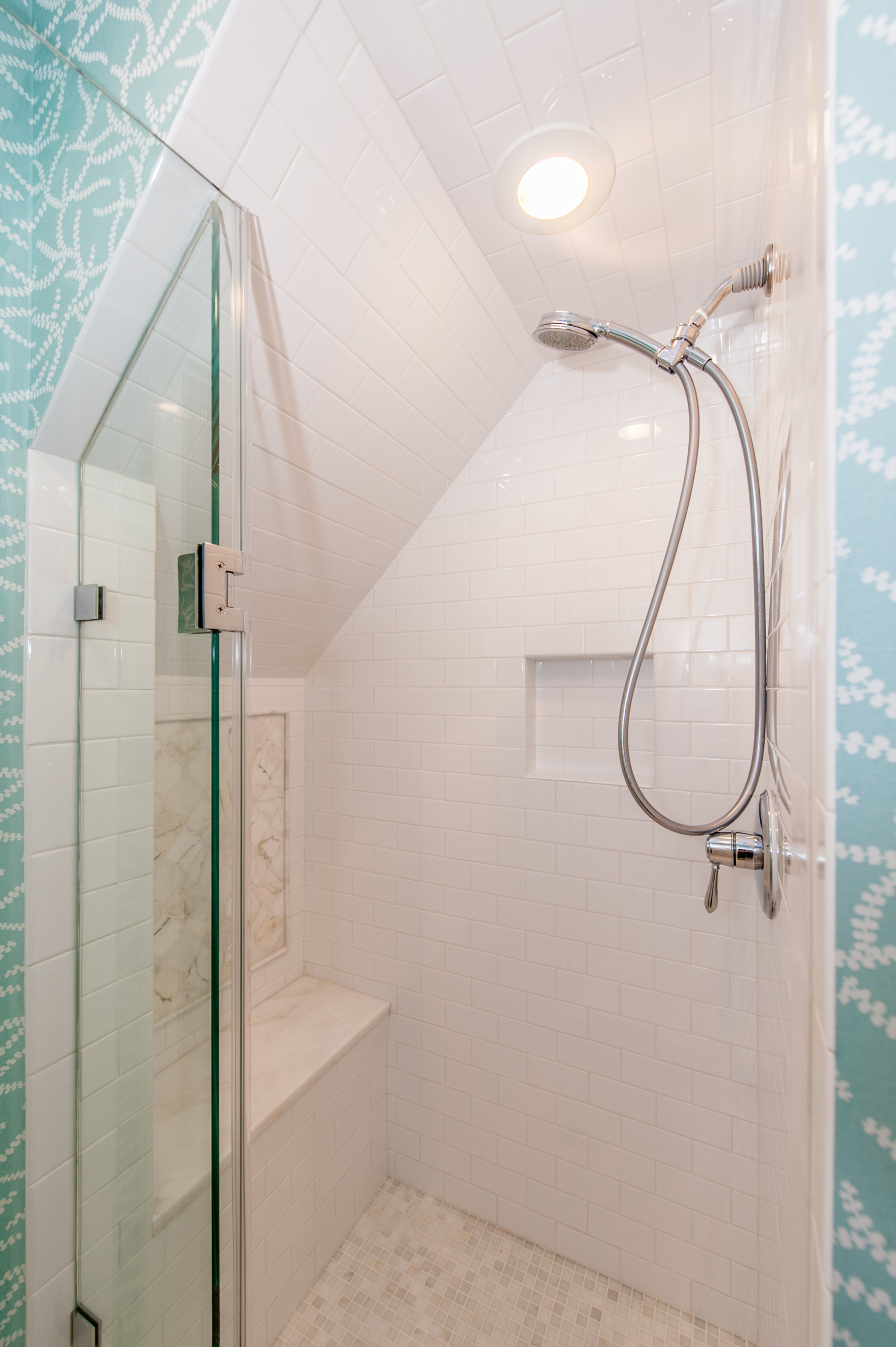 Chevy Chase, MD Kids' Beachy Bedroom and Bathroom Expansion
