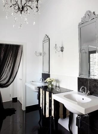 Chic Glamorous Bathroom Design