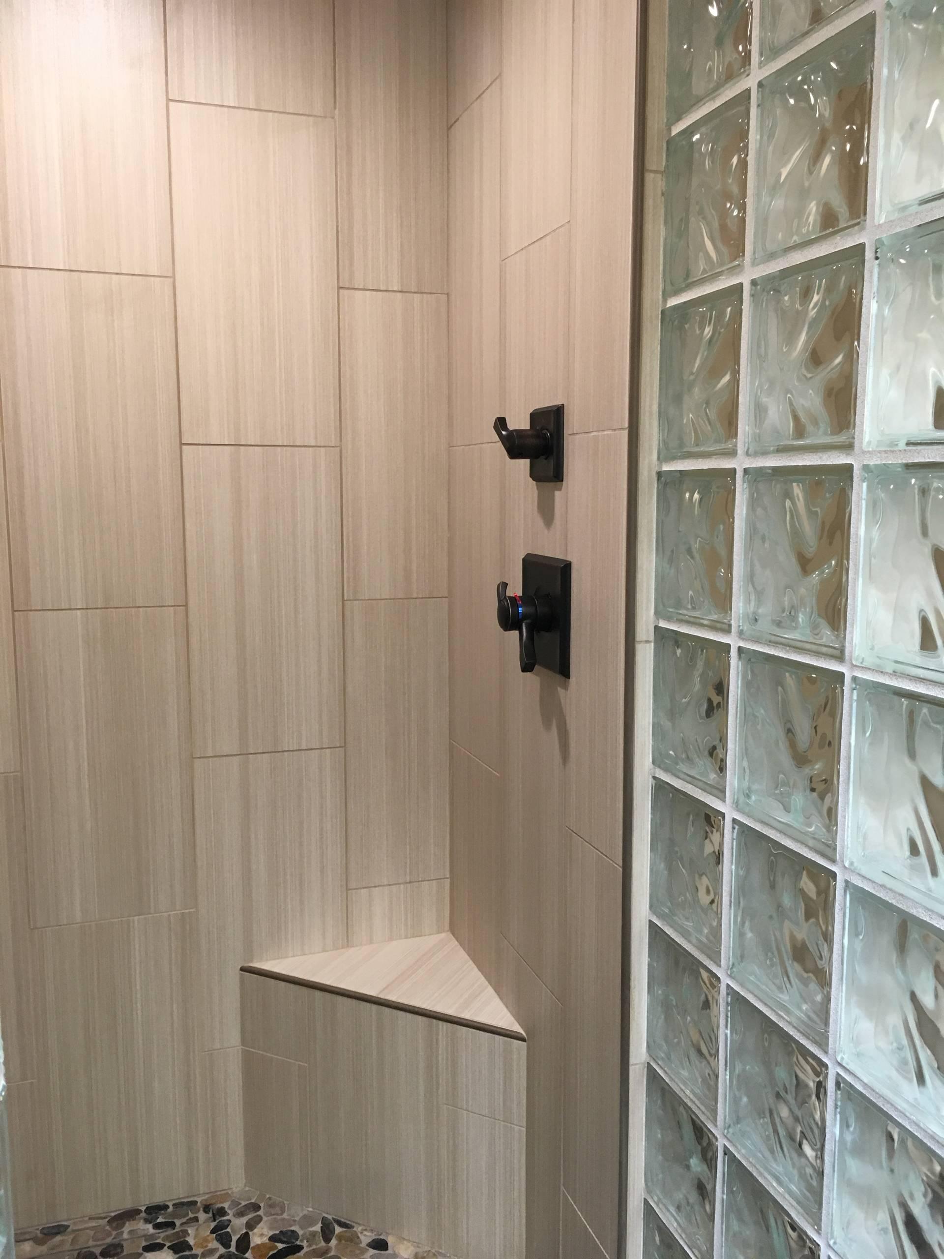 Chic Contemporary Lodi Bathroom Remodel