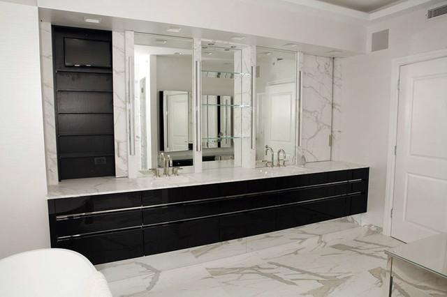 Chicago gold coast bathroom modern bathroom chicago for Bathroom supply chicago
