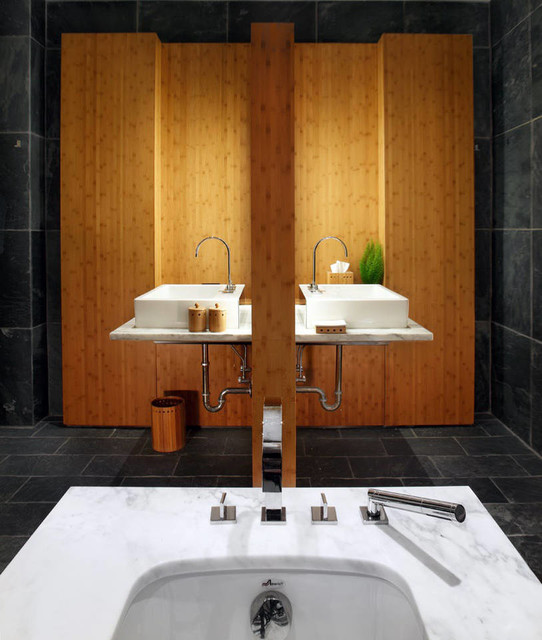 Chicago penthouse contemporary bathroom chicago by for Bathroom design chicago