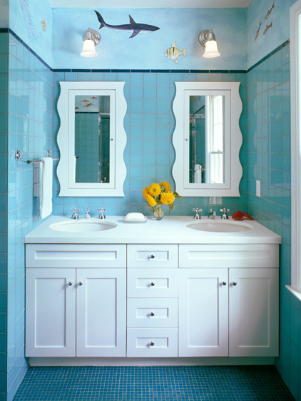 Children's Bathroom contemporary-bathroom