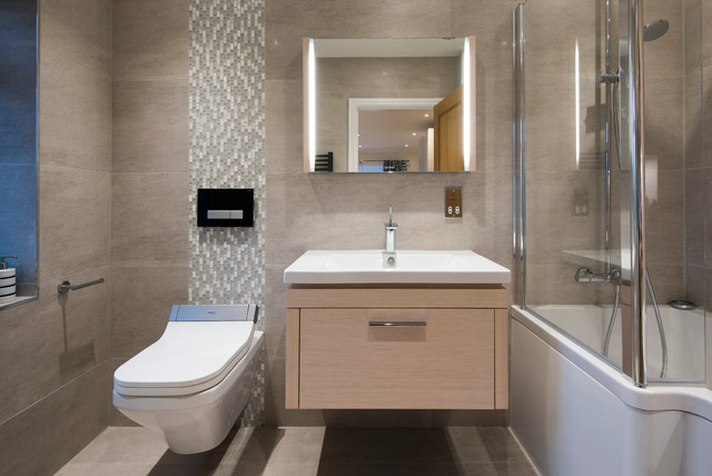 Childs Play Contemporary Bathroom West Midlands By
