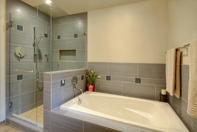 Chin Remodel Contemporary Bathroom Seattle By
