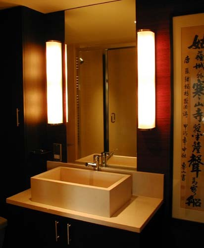 Chinese themed bathroom asian bathroom london by adrienne chinn design - Oriental bathroom decor ...