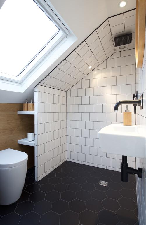 Un bagno nel sottotetto di casa dilei - Bagno nel sottotetto ...