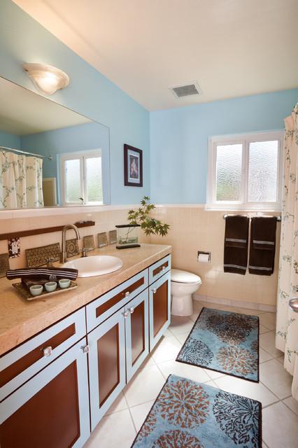 Chiyogami Modern Contemporary Bathroom San Francisco By Susan Diana Harris Interior Design