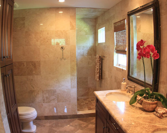 Master Bath Walk In Shower Home Design Photos