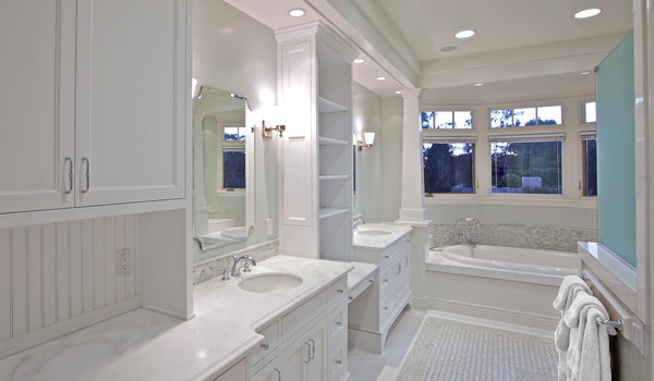 christian rice architects, inc. traditional-bathroom