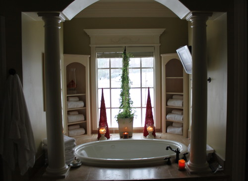 Christmas Master Bath traditional bathroom