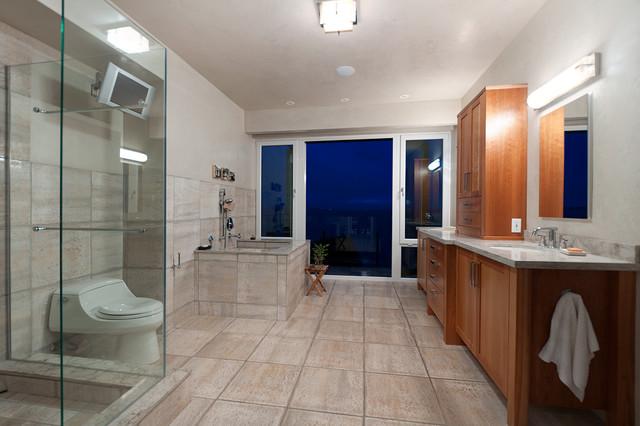 Christopherson Road contemporary-bathroom