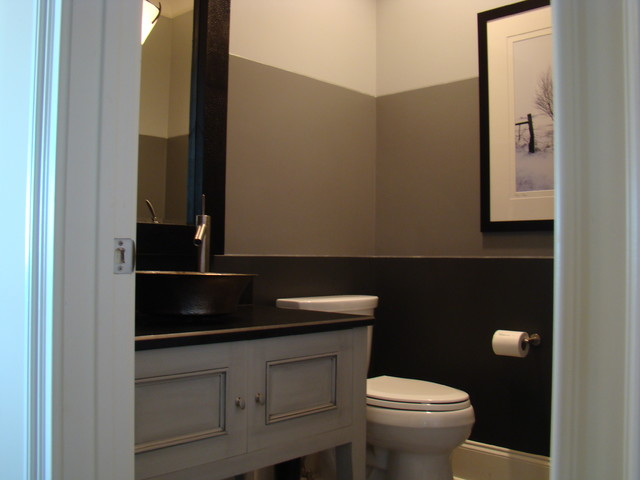 two tone bathroom color ideas